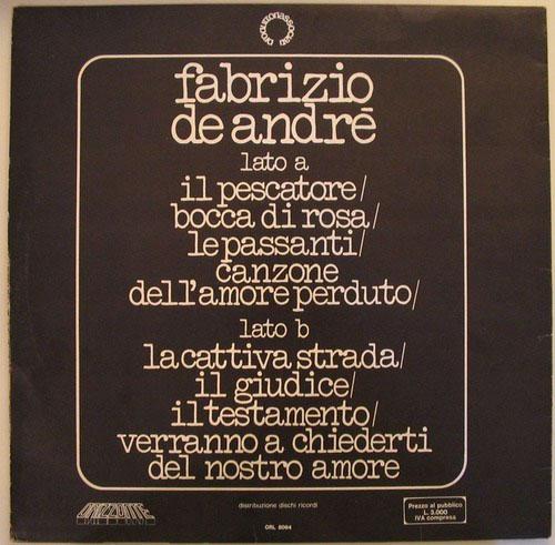 Fabrizio De Andrè 76