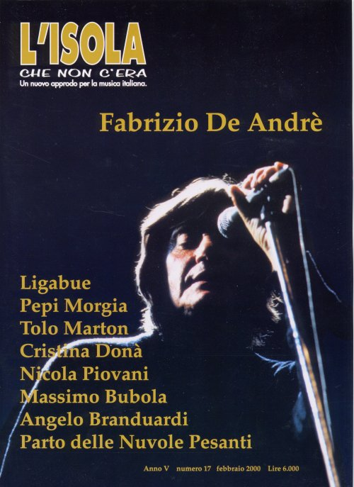 Fabrizio De Andr�, Sardinian anarchist songster